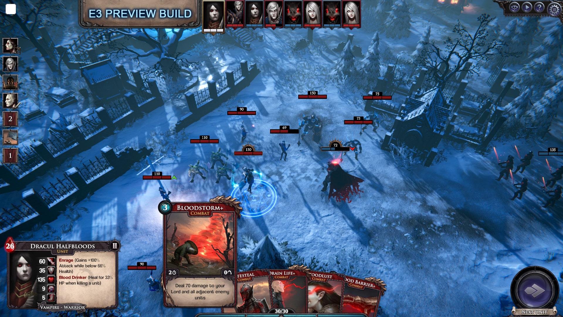 E3:策略游戏《永生之境:吸血鬼战争》公布 登陆PC和主机