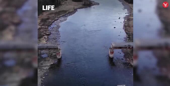 <b>真·战斗民族!俄罗斯一座56吨重铁路桥被偷去卖废品</b>
