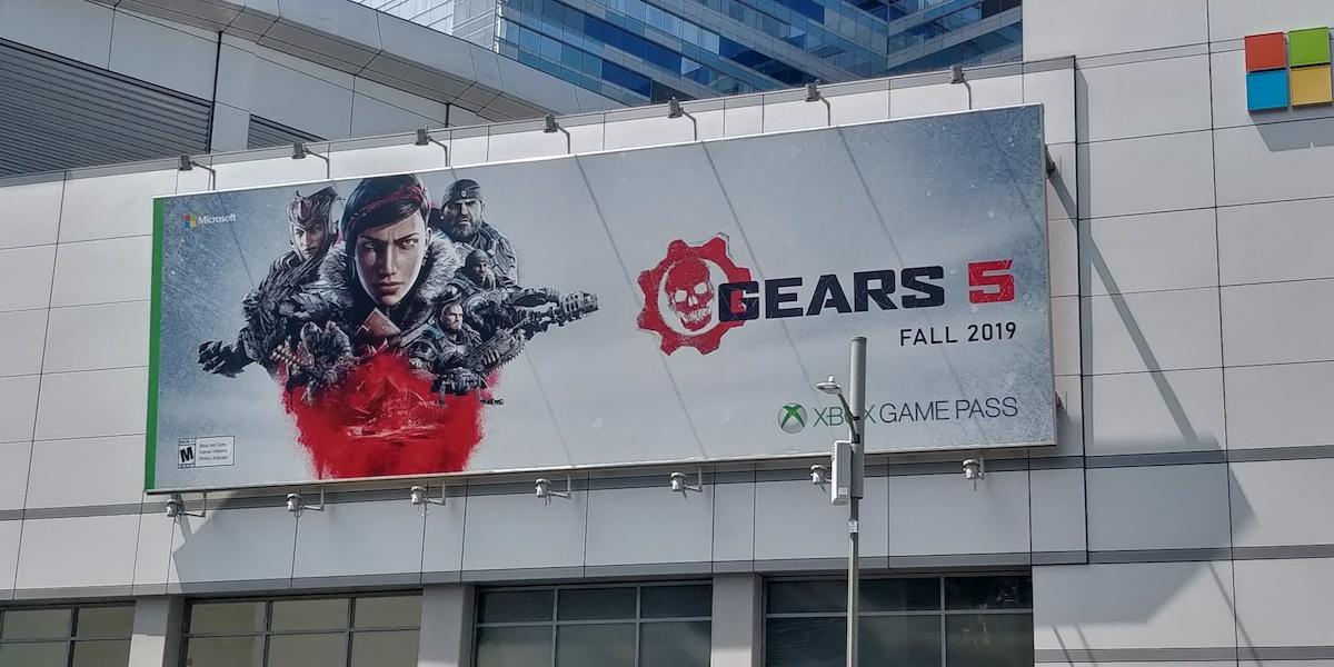 E3:《战争机器5》巨幅宣传海报现身 确认今秋发售