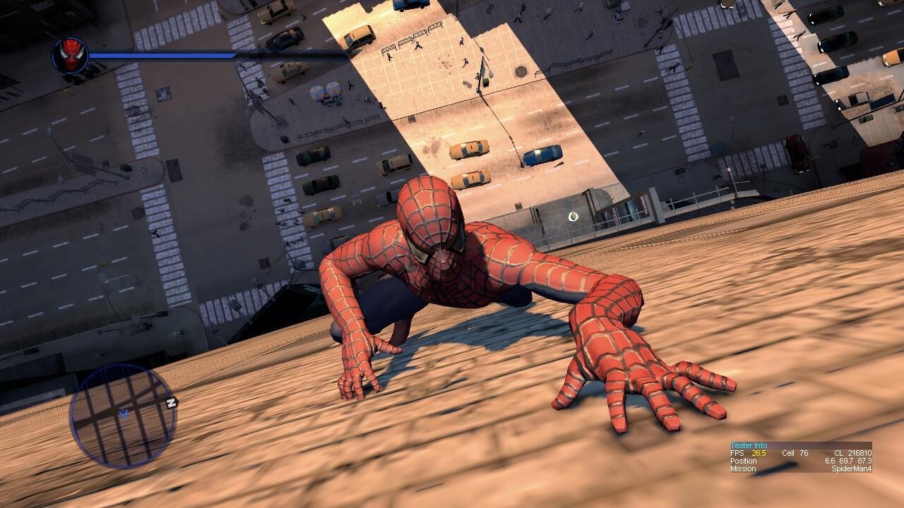 《蜘蛛侠4》多年废案截图曝光 后被改造成《虐杀原形2》