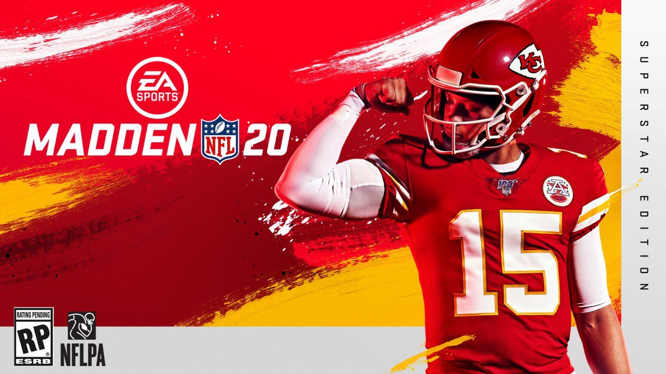 E3:《麦登橄榄球20》品牌预告片公布封面人物