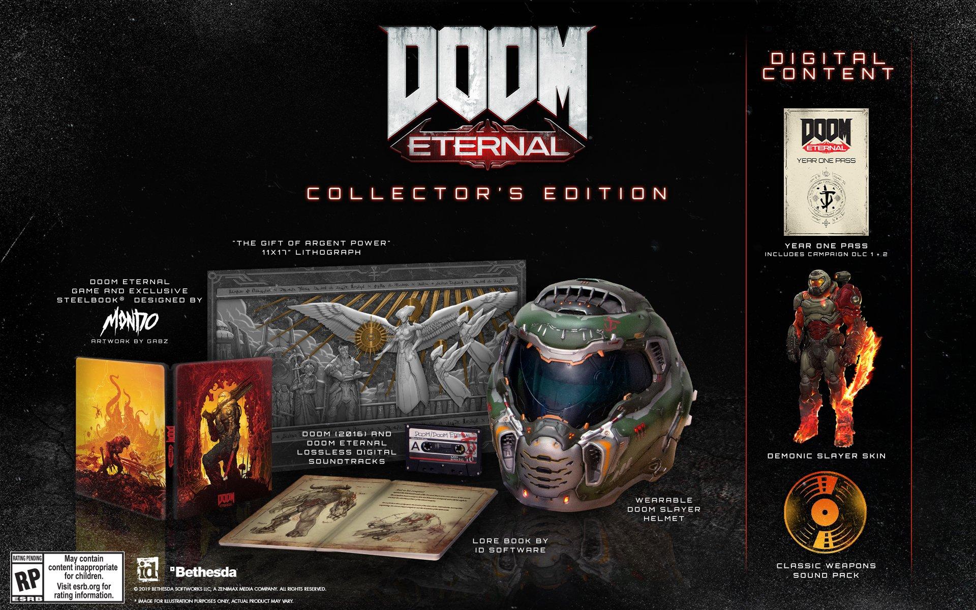 E3:11月22日发售!《毁灭战士:永恒》全新预告