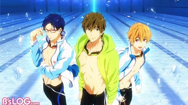 目标直指奥运!罕见游泳番名作《Free!》新剧场版