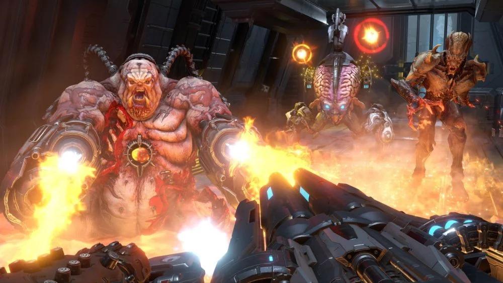 E3:《毁灭战士:永恒》新截图及艺术图 屠杀怪
