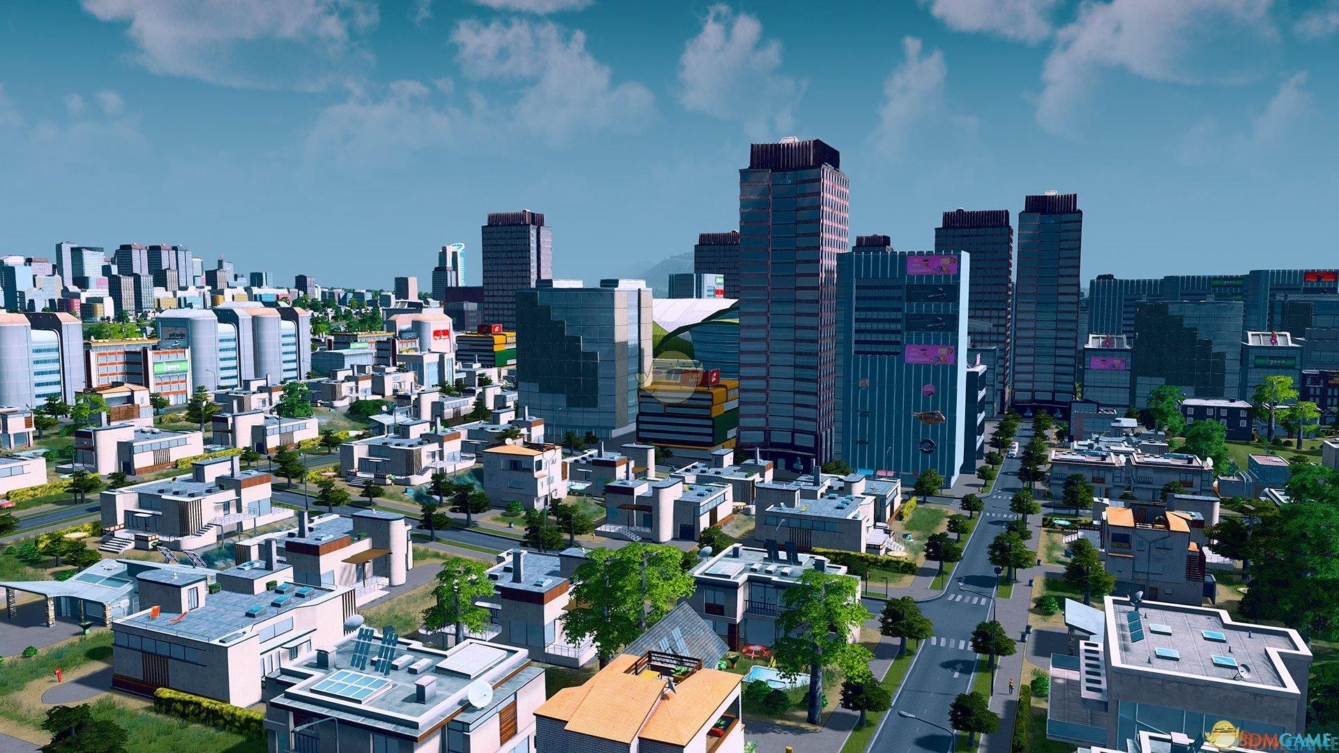 《城市:天际线》城市部分区域断电解决方法介绍