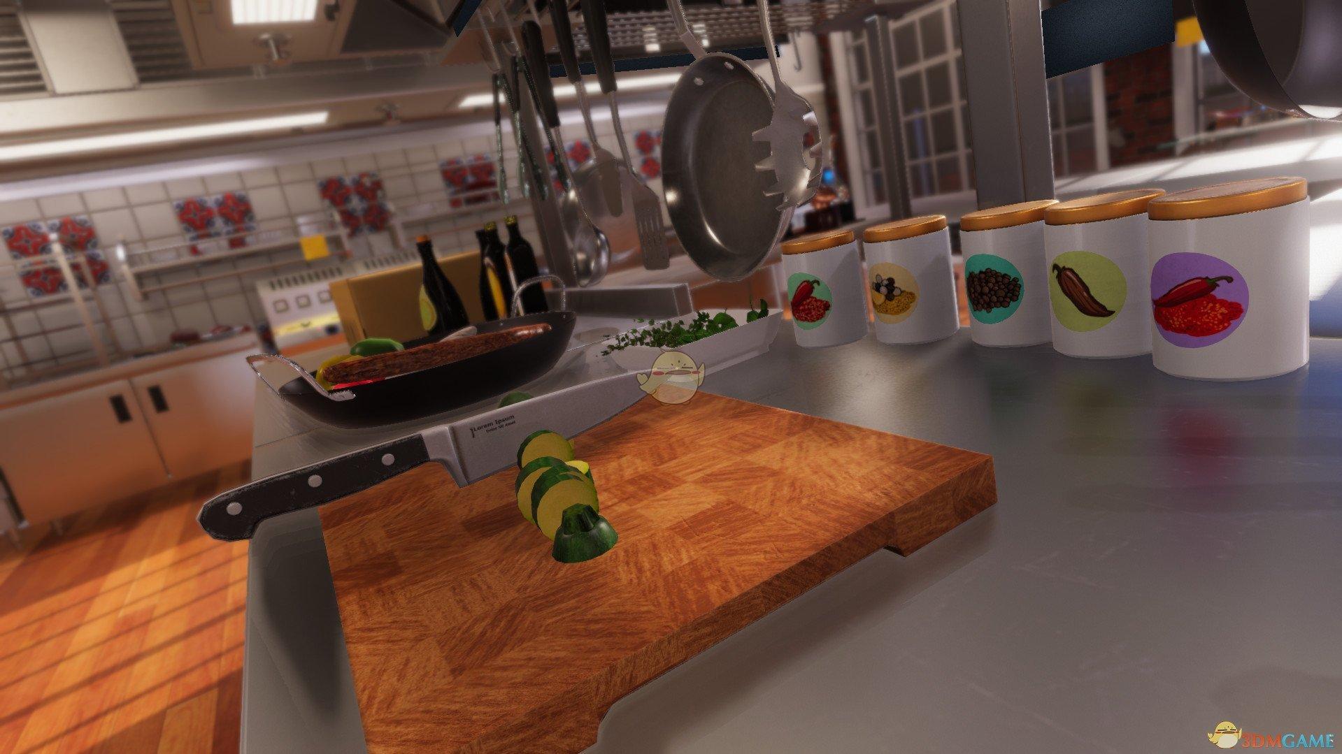 《料理模拟器》倒油方法分享