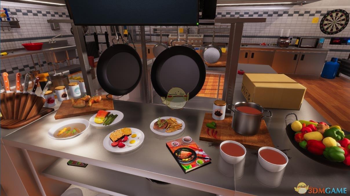 《料理模拟器》中文设置方法分享