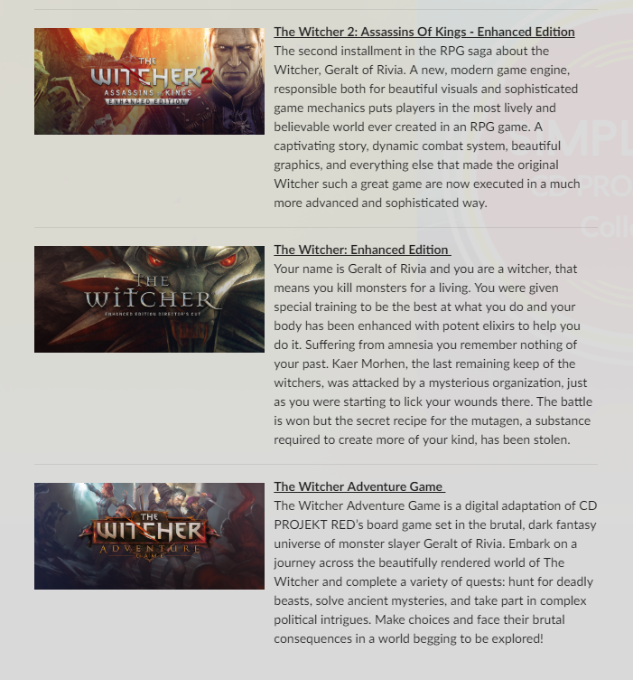 E3:GOG推出超值CDPR全家桶!包含《赛博朋克2077》