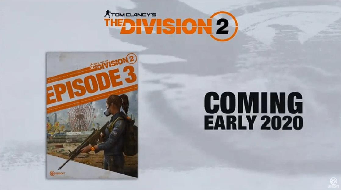 E3:《全境封锁2》更新路线图公布 第三章2020年发布