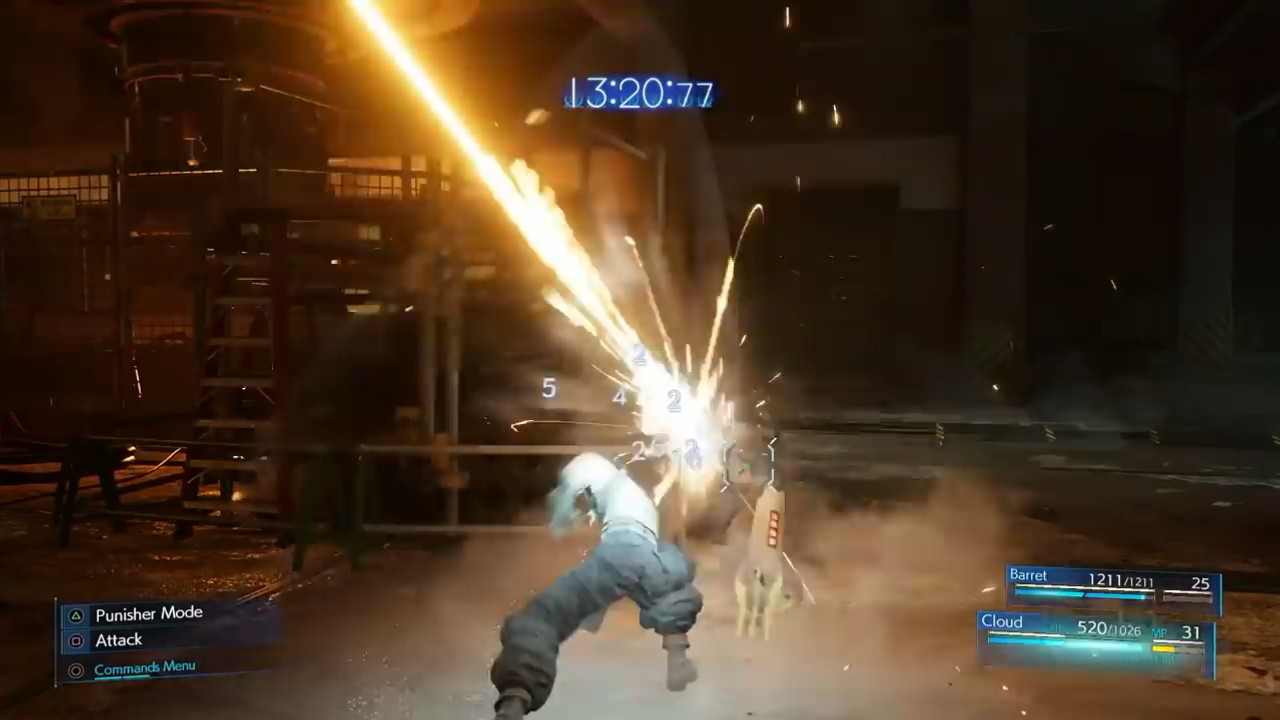 最终幻想7重制版E3战斗细节演示 ATB槽再次回归图片1