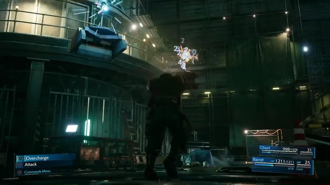 最终幻想7重制版E3战斗细节演示 ATB槽再次回归图片2