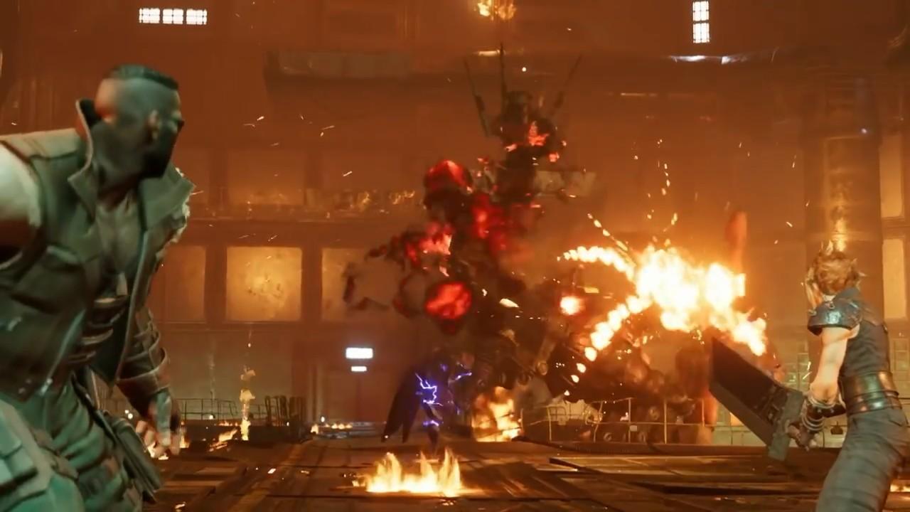 最终幻想7重制版E3战斗细节演示 ATB槽再次回归图片4