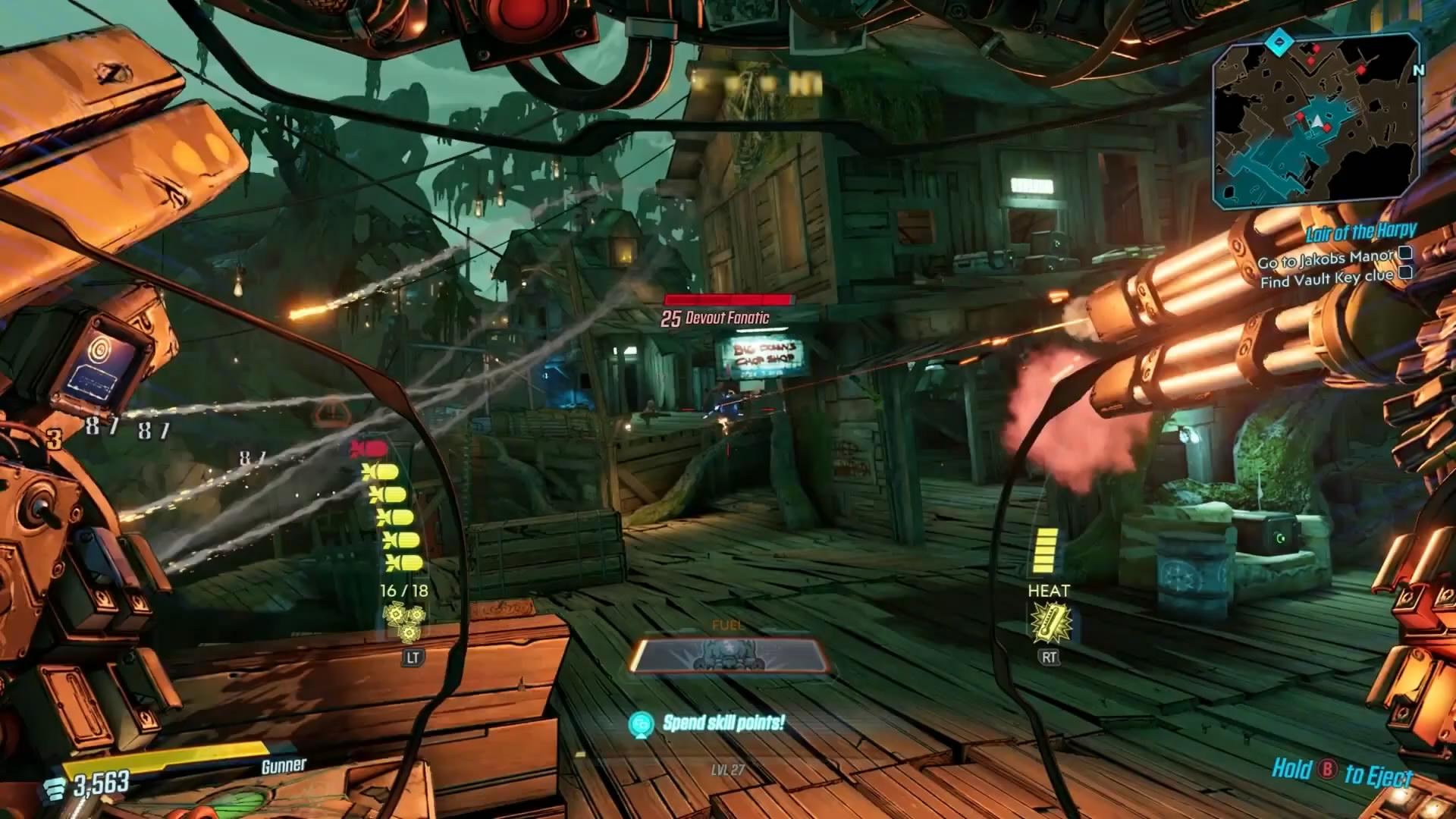 E3:《无主之地3》新演示 莫泽驾驶机甲杀四方