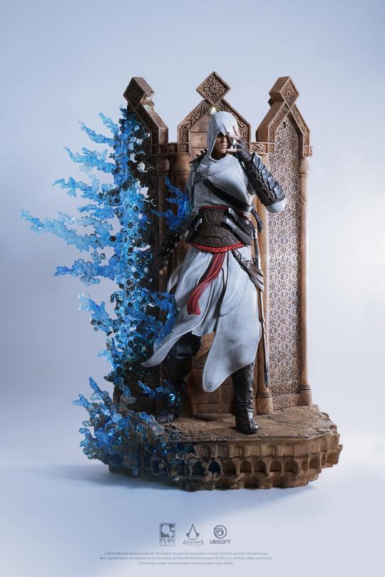 育碧公布刺客大师阿泰尔雕像 细节惊人且价格昂贵