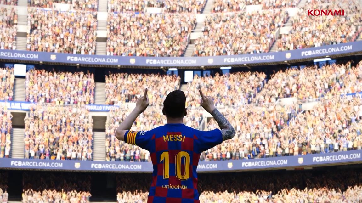 E3:《实况足球2020》正式公布 梅西王者归来!