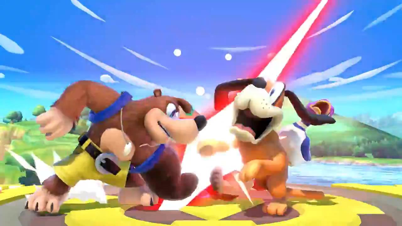 E3:RARE经典角色班卓熊正式决定加盟任天堂明星大乱斗