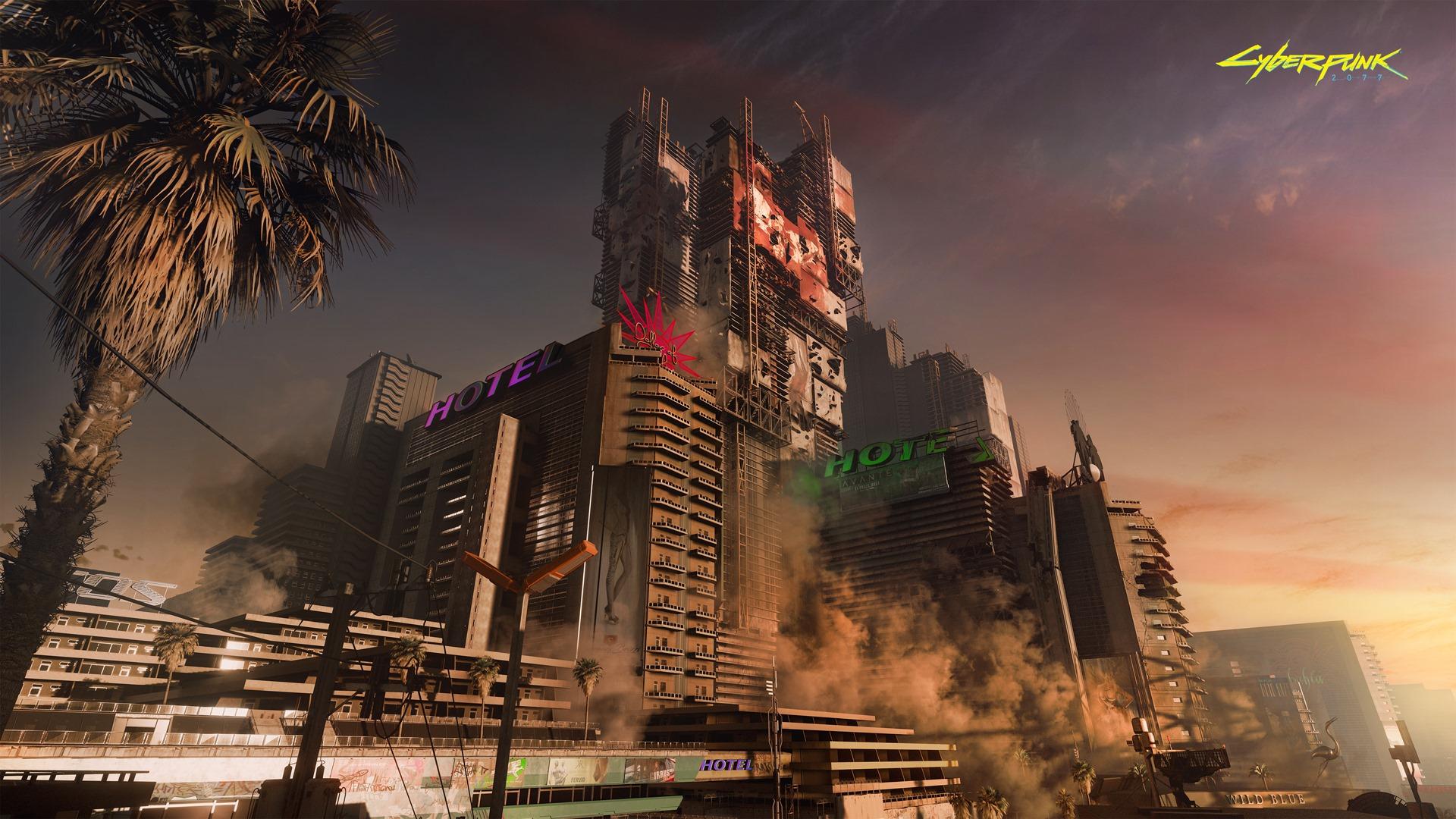 《赛博朋克2077》玩家能探索夜之城郊外 顺便看风景
