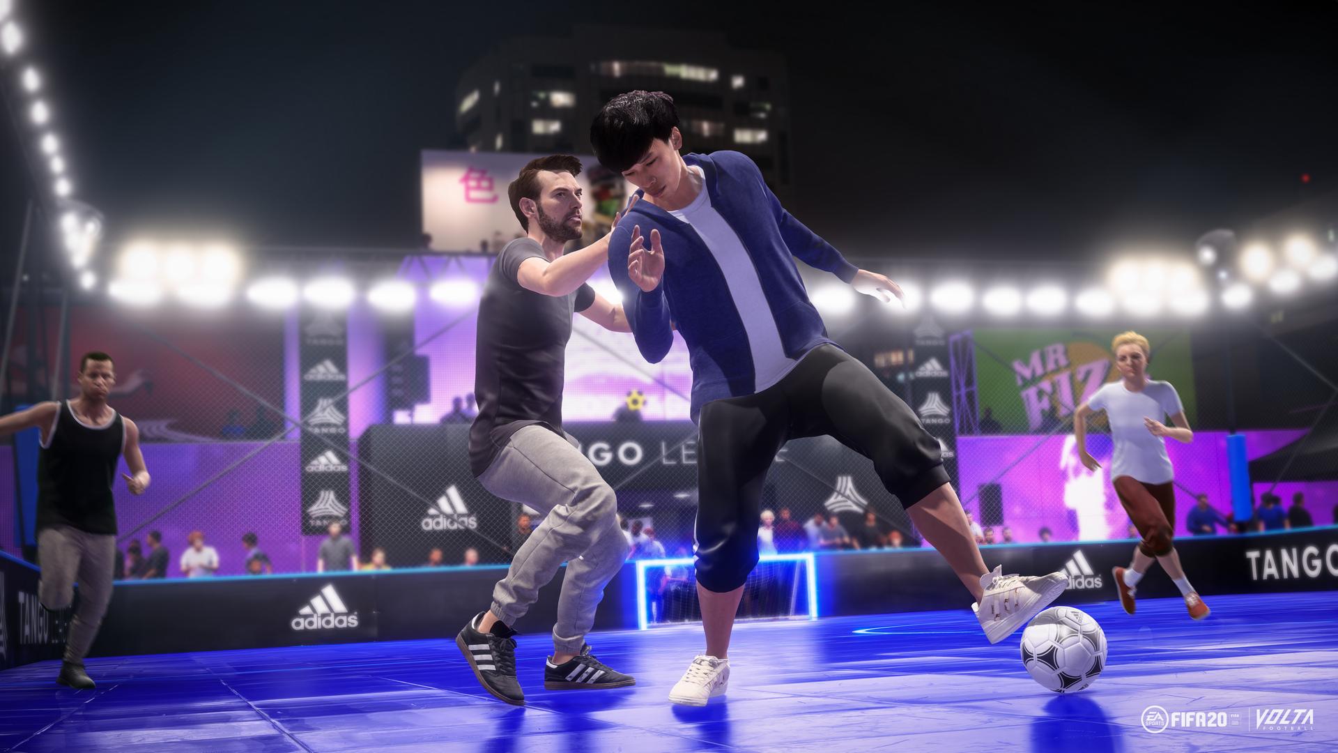 E3:《FIFA 20》首批截图 妹子带球戏耍帅哥