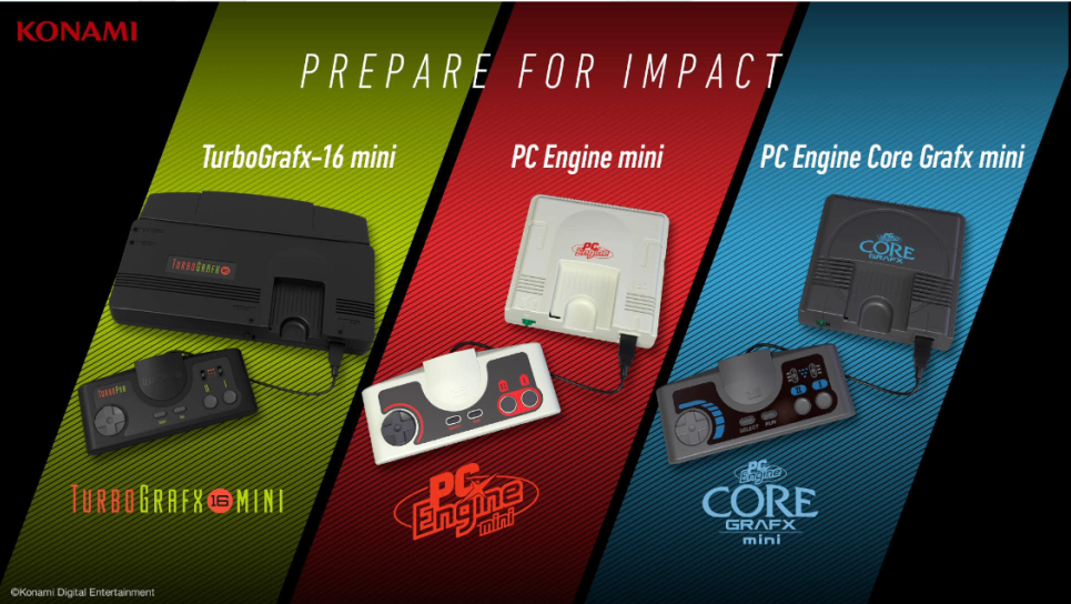 E3:科乐美推出新主机TurboGrafx-16迷你