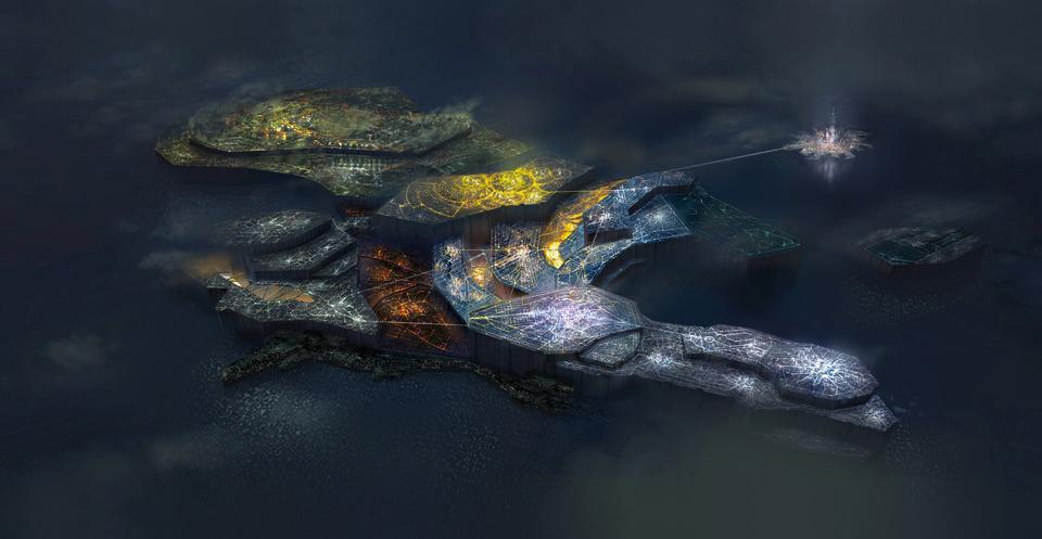 白金工作室《星神链》新截图及艺术图 靓女战怪兽