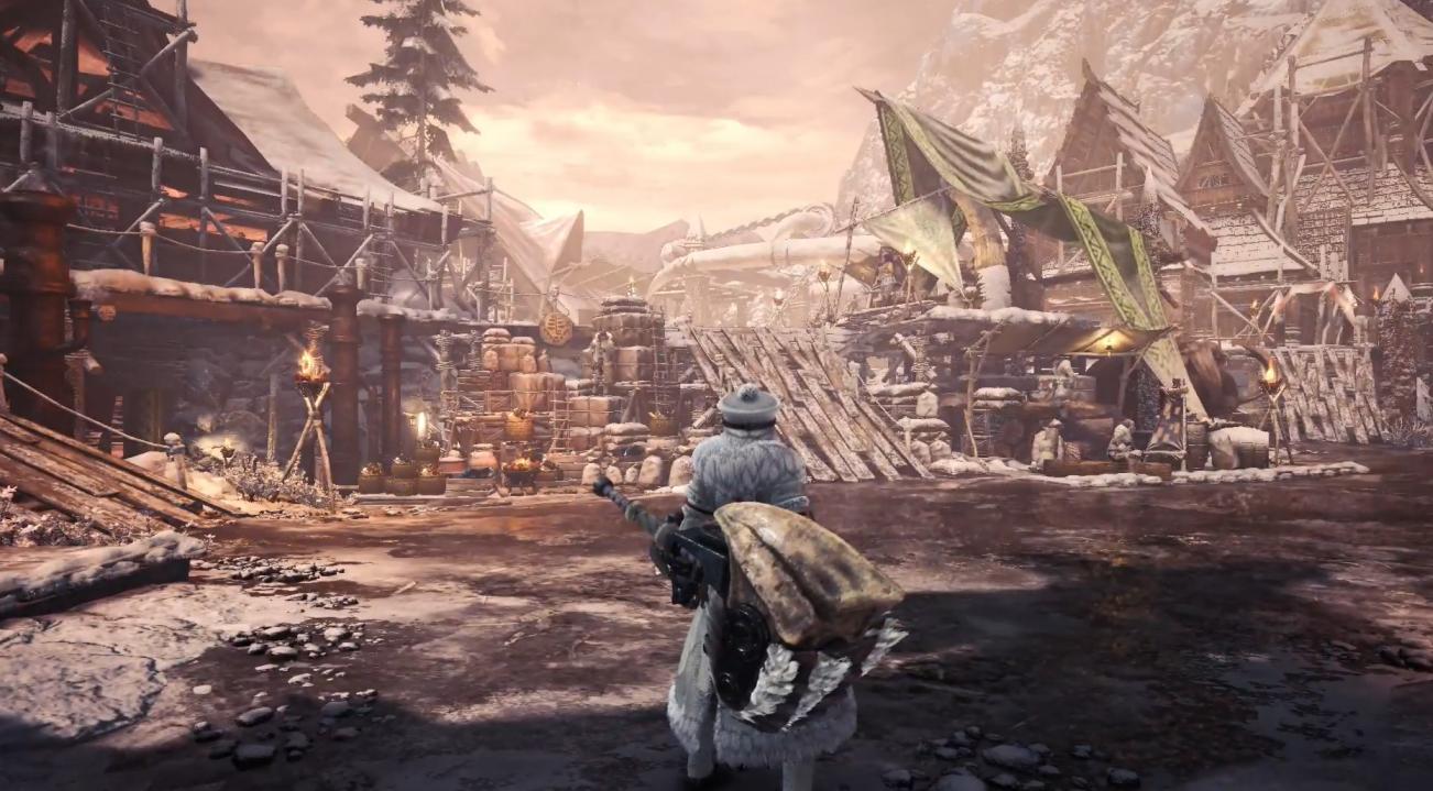 卡普空正在加快《怪物猎人世界:冰原》PC开发进度