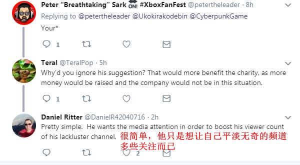 李维斯粉丝婉拒免费《赛博朋克2077》游戏 称用于公益才更棒