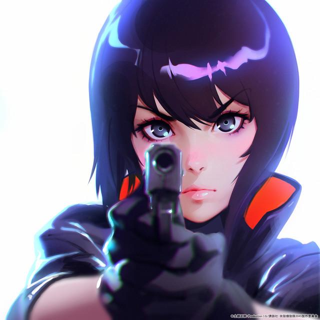 《攻壳机动队》最新动画人设由俄罗斯妹子画师担当 全新素子亮相