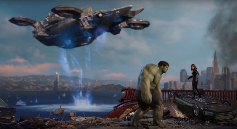 E3:《漫威复仇者联盟》试玩演示 玩家让英雄产生交集
