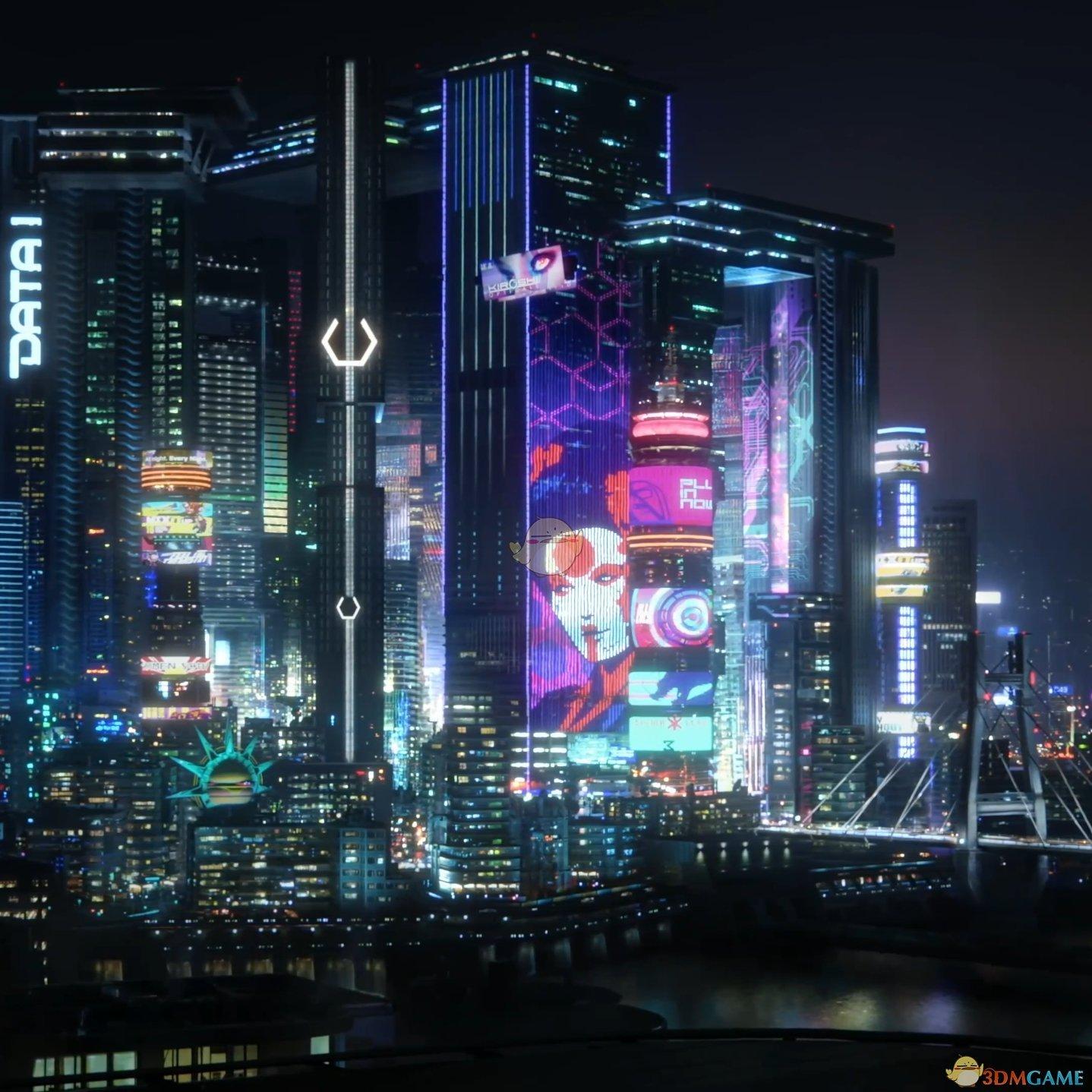 赛博朋克2077夜之城动态壁纸下载 Wallpaper赛博朋克2077壁纸下载 3dm单机