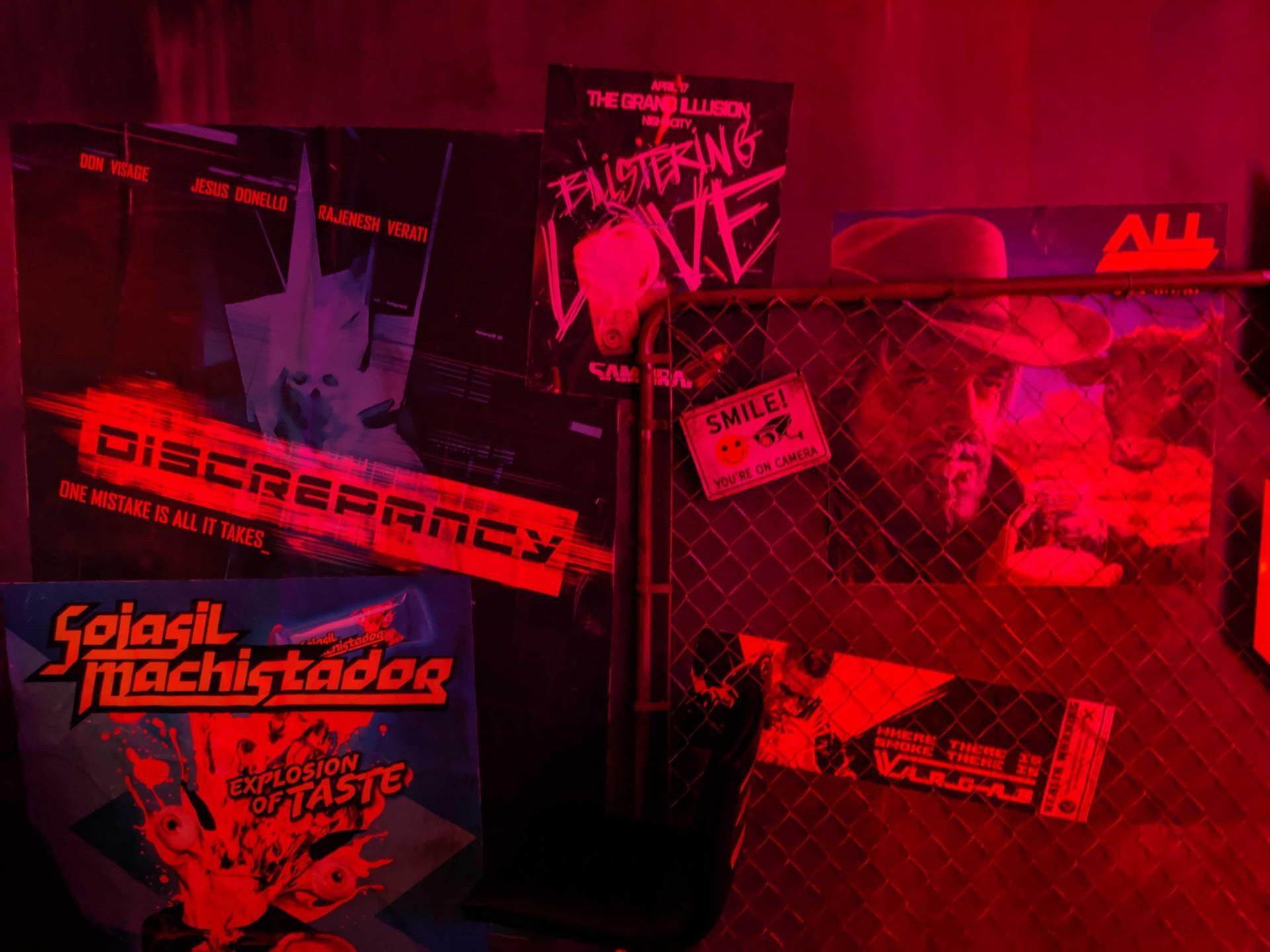 《赛博朋克2077》E3展台现场图 夜店酒吧酷炫无比