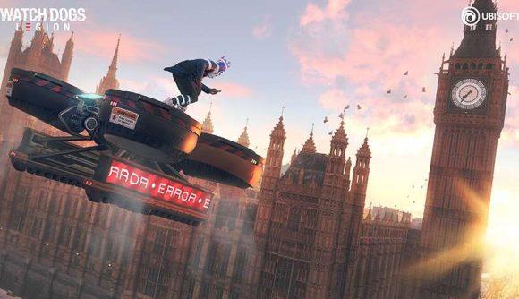 《看门狗:军团》支持光追 英伟达与育碧通力合作