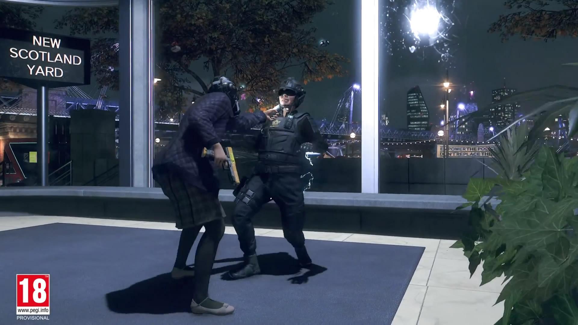 《看门狗:军团》实机演示 扮演美女老太解放伦敦