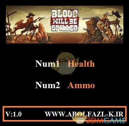 《血洒四方》v1.0无限生命弹药修改器[Abolfazl]
