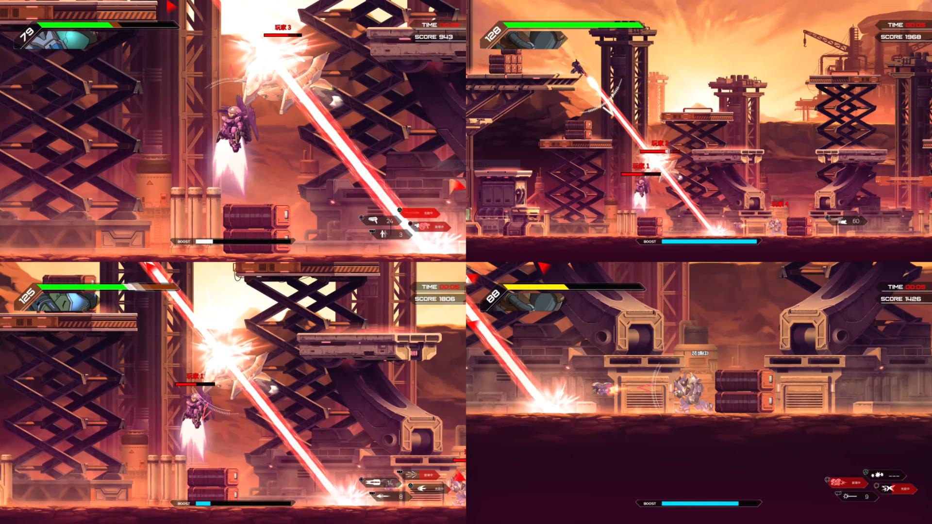 国产游戏《硬核机甲》加入中文语音 开启促销活动