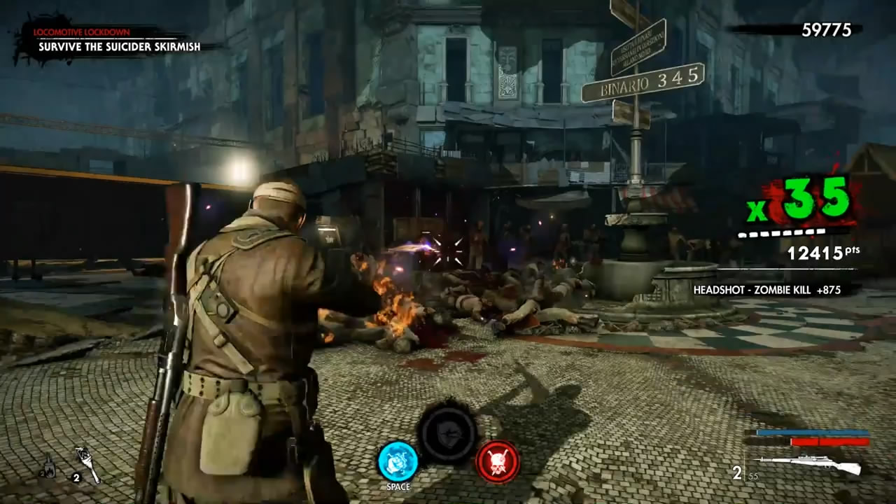《僵尸部队4:死亡战争》新演示视频 大战丧尸军团