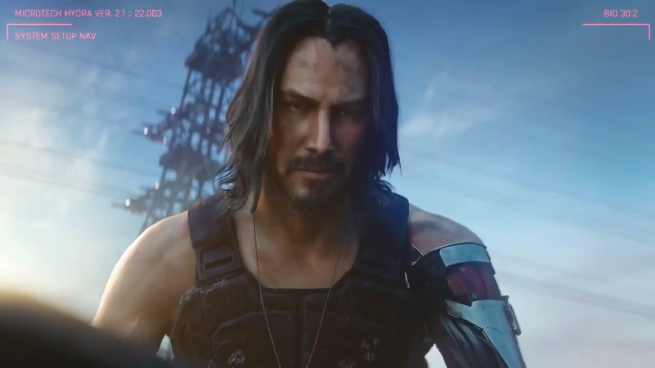基努·里维斯谈《赛博朋克2077》:故事是游戏最大魅力