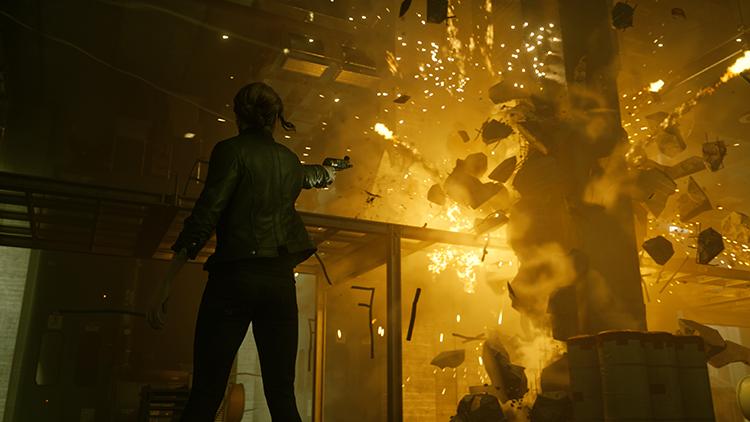 《控制》游戏前瞻一览 超自然力量下的诡异纽约城