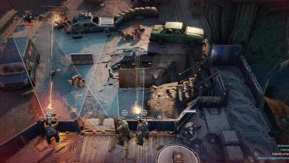 策略游戏《战争机器:战术》并没有被腰斩 仍在开发中