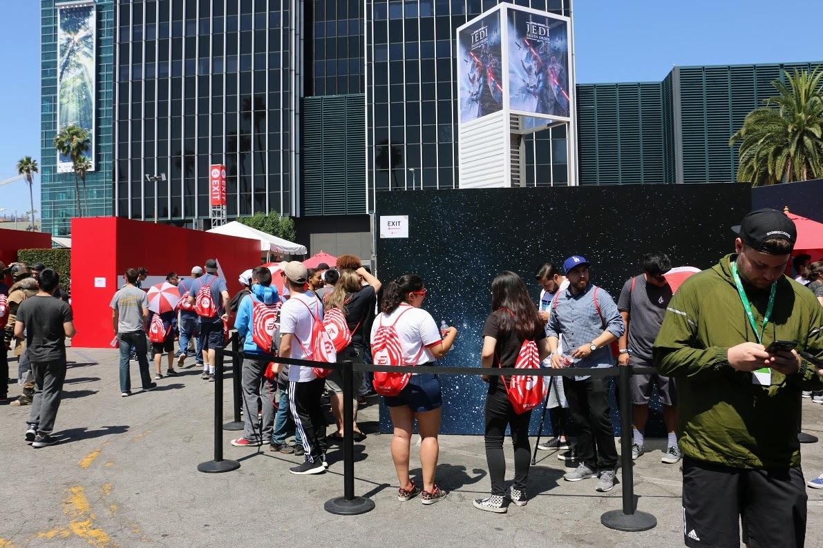 E3:EA Play活行现场照片回顾 国表Coser太专科了