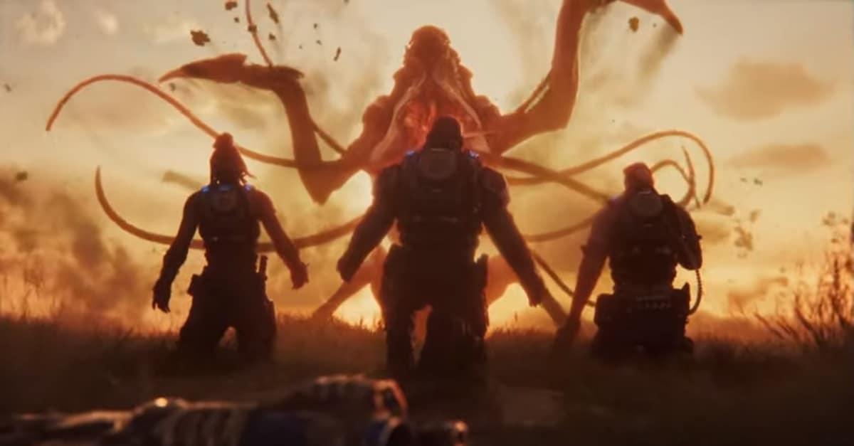 《战争机器5》逃脱模式演示 疯狂逃亡惊险刺激!