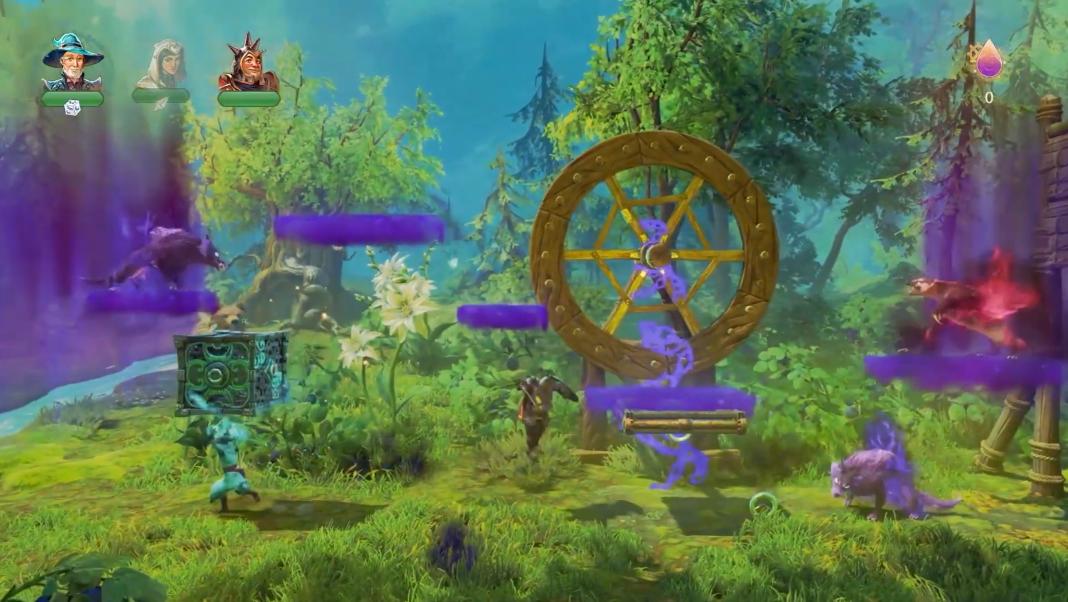 E3:《三位一体4》游戏演示 三英雄再度开启冒险之旅