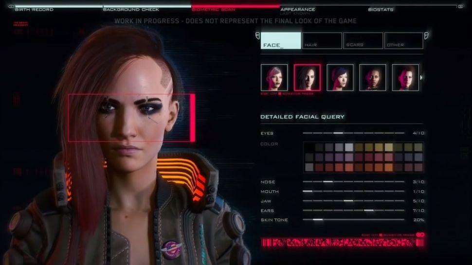 《赛博朋克2077》 角色创建抛弃性别选项 可双性别混搭