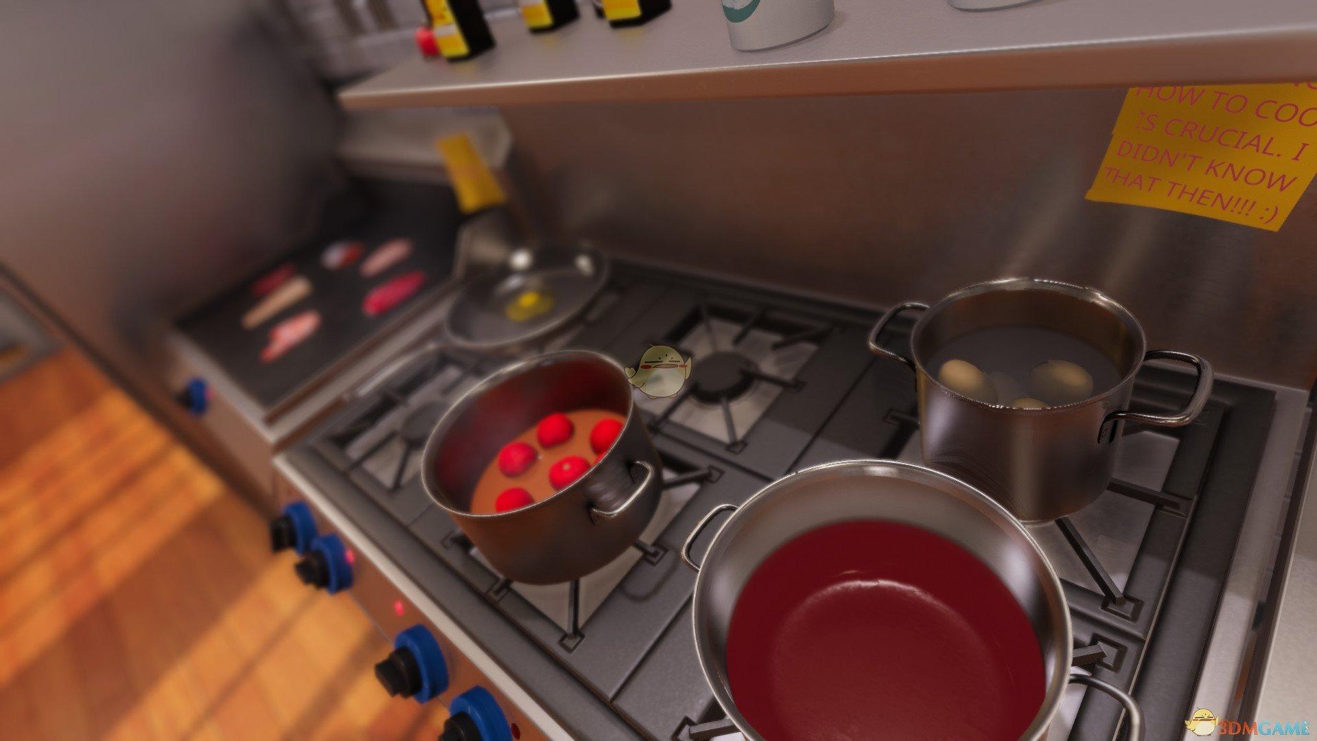《料理模拟器》德国土豆沙拉沥油省钱方法分享