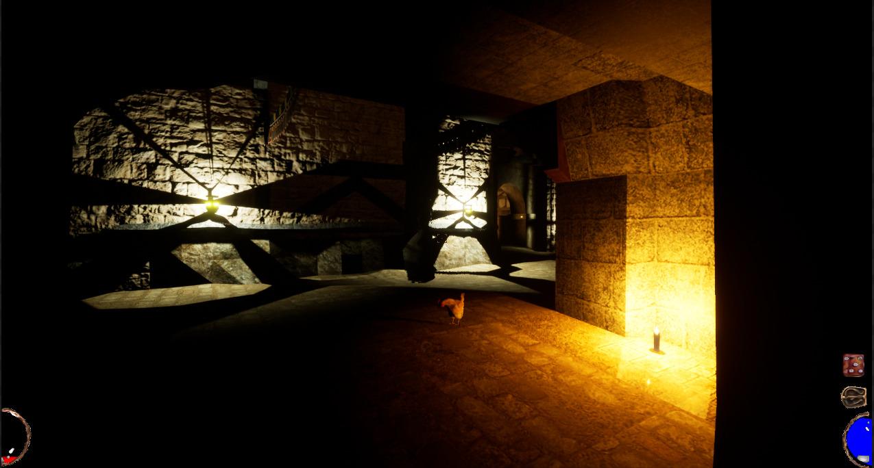 使用光线追踪 基于虚幻4《地城英雄志》重制截图分享