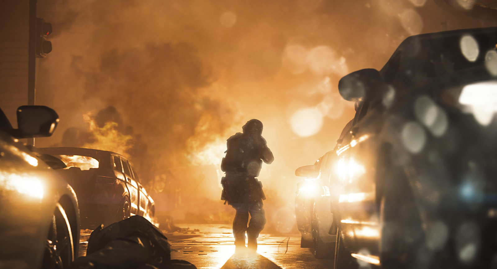 渲染真实  《COD现代战争》 会随玩家行动产生分支对话