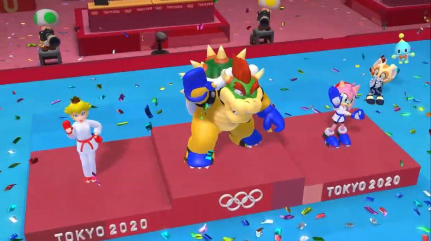 体育无边界《马里奥和索尼克的东京奥运会》E3游玩视频