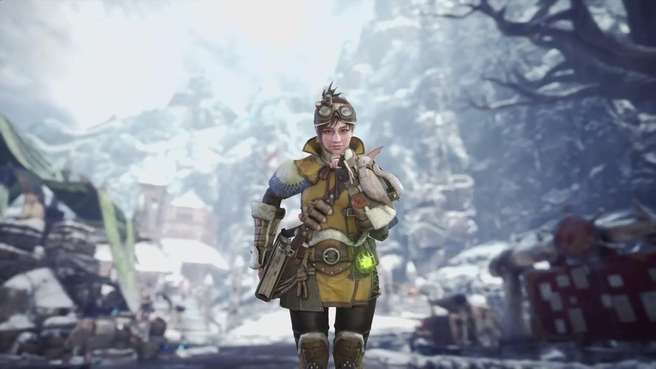 《怪物猎人:世界》冰原DLC测试版6月21日开启