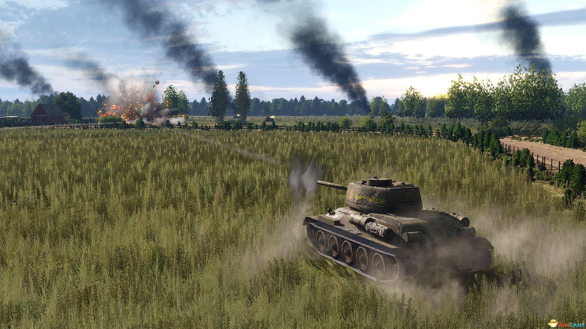 《钢铁之师2》官方中文免安装版下载 二战东线战场厮杀