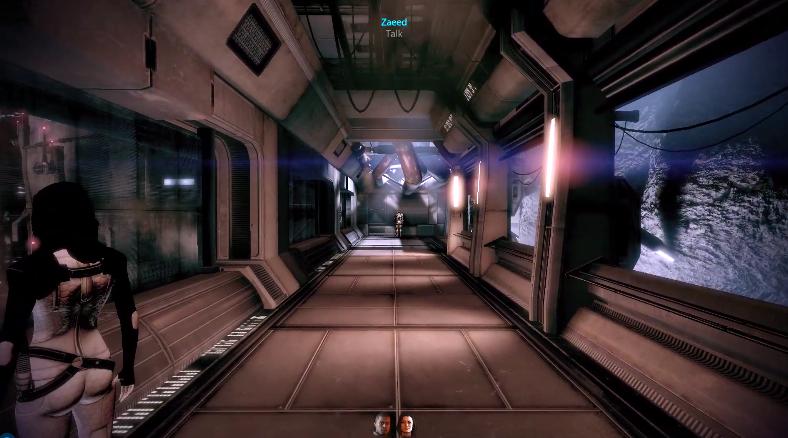 《质量效应2》新增第一人称模式Mod 宛若电影场景