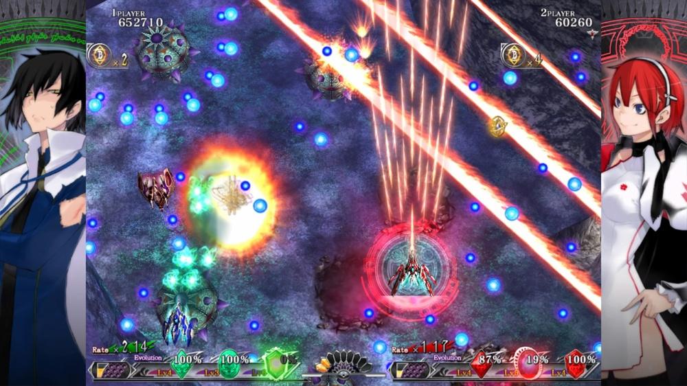 射击游戏也能做好剧情Switch版《灵鸟战机:爆裂》开启预载